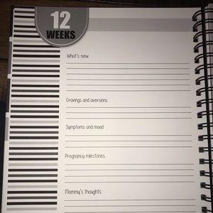 Polka Dot Office - Bump Pregnancy Journal